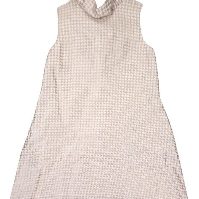 Gabby Houndstooth Blair Dress