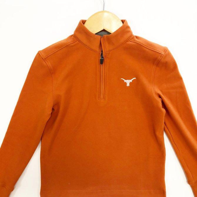 Johnnie-O Brady Texas Burnt Orange Pullover