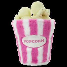 Iscream Popcorn 3D Furry Pillow