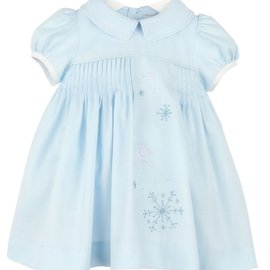 Sophie & Lucas Snowy Sweet Pleat Dress