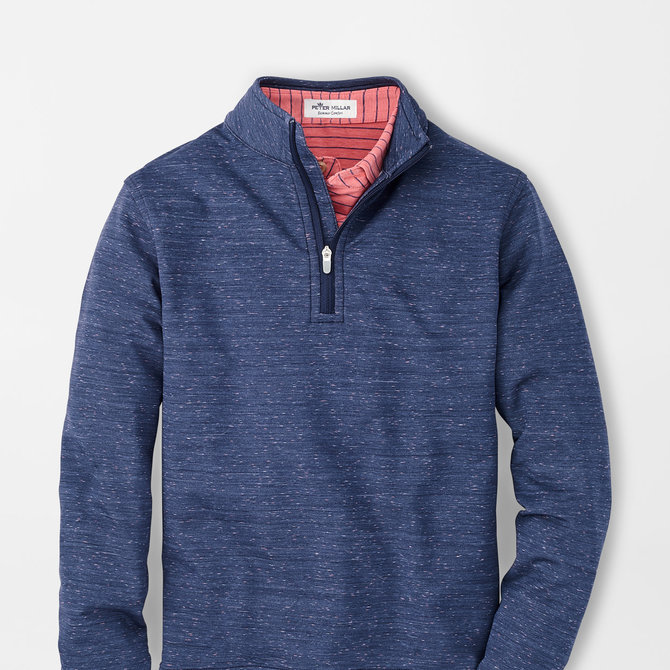 Peter Millar Youth Space Dye Perth Performance 1/4 Zip