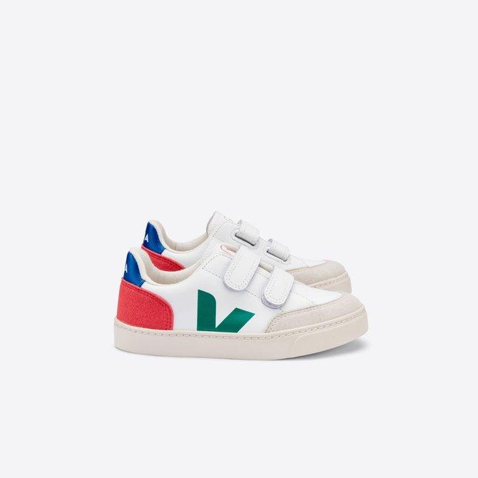 Veja Kid Sneaker Leather Emeraude Pekin