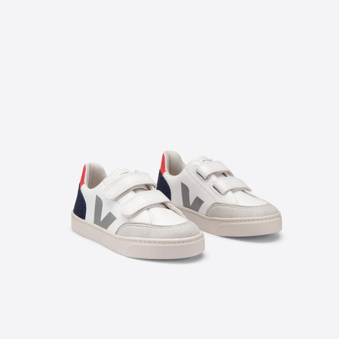 Veja Junior Sneaker Leather Multico Nautico