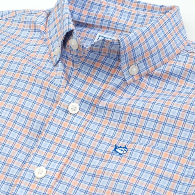 Southern Tide Youth Intercoastal Agate Sport Shirt