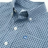 Southern Tide Youth Cotton Stretch Check Button Down