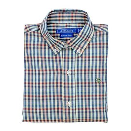 The Bailey Boys J. Bailey Button Down Kaleidoscope Plaid