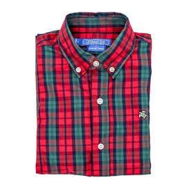 The Bailey Boys J. Bailey Button Down December Plaid