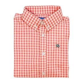 The Bailey Boys J. Bailey Button Down Pumpkin Windowpane