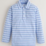 Little English Long Sleeve Striped Polo