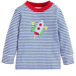 Little English Rocket Applique Longsleeve T-Shirt