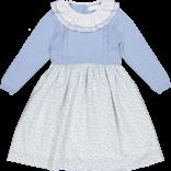 Sal and Pimenta Flore Blue Dress