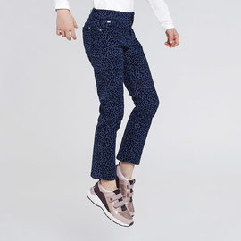 Mayoral Cropped Leopard Print Pant
