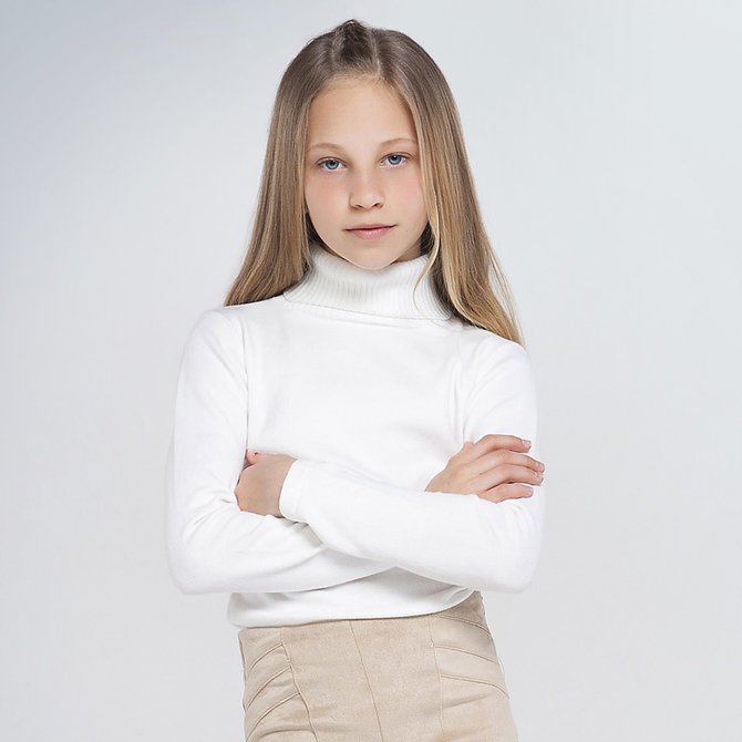 Mayoral Basic Knit Turtleneck