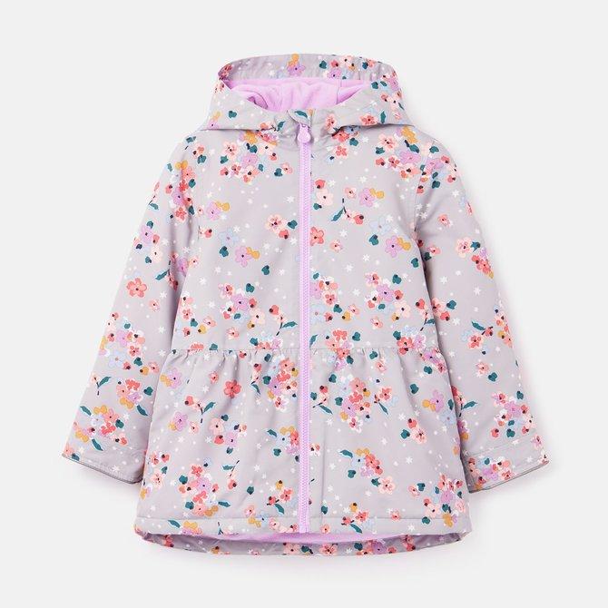 Joules Raindrop Peplum Coat