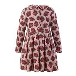 Rachel Riley Strawberry Jersey Dress Red/Pink