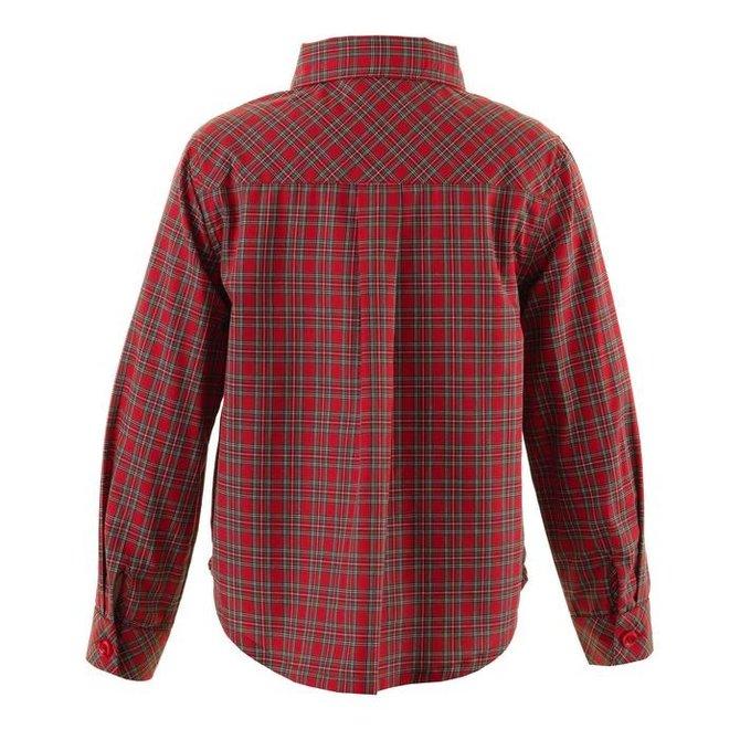 Rachel Riley Tartan Shirt Red
