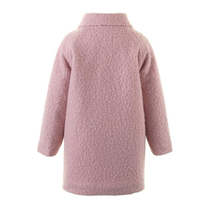 Rachel Riley Girls Bow Boucle Coat