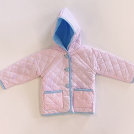 Little Louanne Pink Quilted Jacket