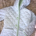 Little Louanne Blue Quilted Jacket