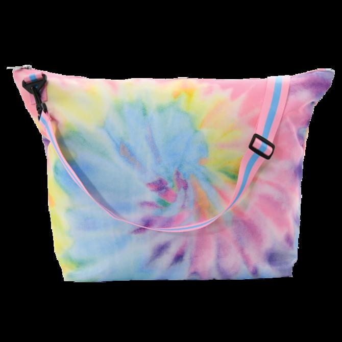 Iscream Pastel Tie Dye Weekender Bag