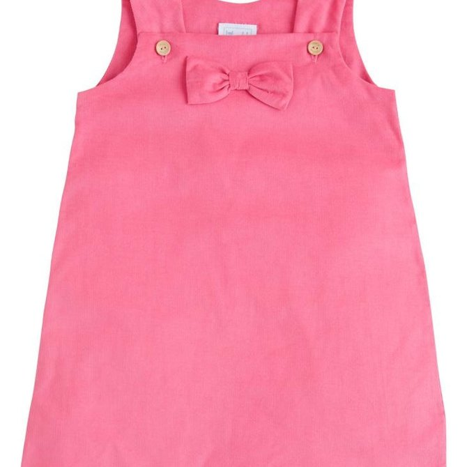 Little English Bow Jumper Hot Pink