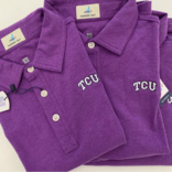 Johnnie-O Game Day Original TCU Purple Polo