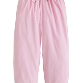 Little English Banded Bow Pant Light Pink