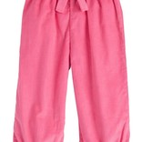 Little English Banded Bow Pant Hot Pink