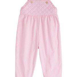 Little English Girls Ruffled Overall Light Pink