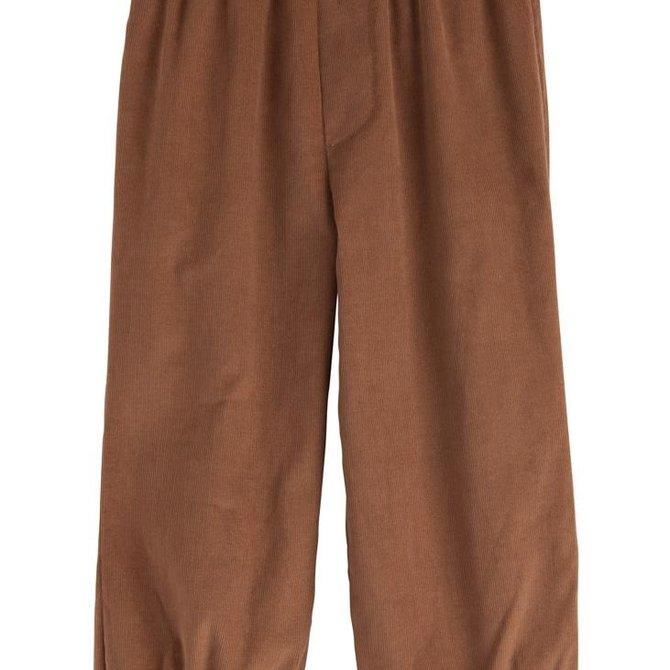Little English Boys Banded Pull on Pant Cinnamon