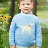 Little English Lab Intarsia Sweater Boy