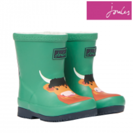 Joules Green Cow Welly