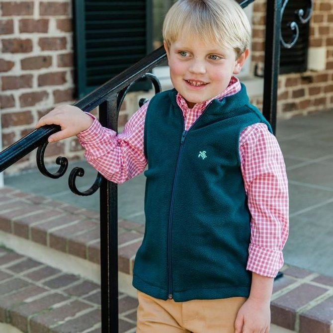 The Bailey Boys J. Bailey Fleece Vest- Hunt
