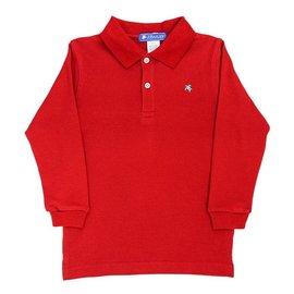 J. Bailey J. Bailey Longsleeve Polo - Red
