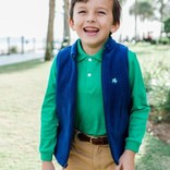 The Bailey Boys J. Bailey Longsleeve Polo - Kelly Green