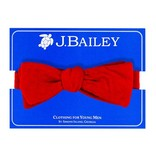 The Bailey Boys Red Cord Bow Tie