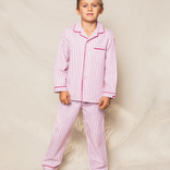 Petite Plume Antique Red Ticking Pajama Set