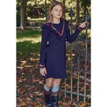 Bella Bliss Noelle Dress Navy Pique
