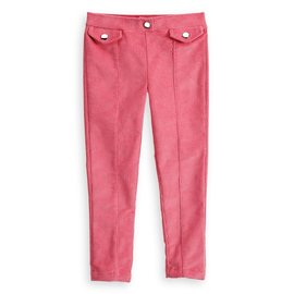 Bella Bliss Berry Front Pocket Corduroy Jegging