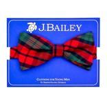The Bailey Boys J. Bailey Bow Tie December Plaid