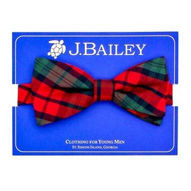 The Bailey Boys J. Bailey Bow Tie December Plaid