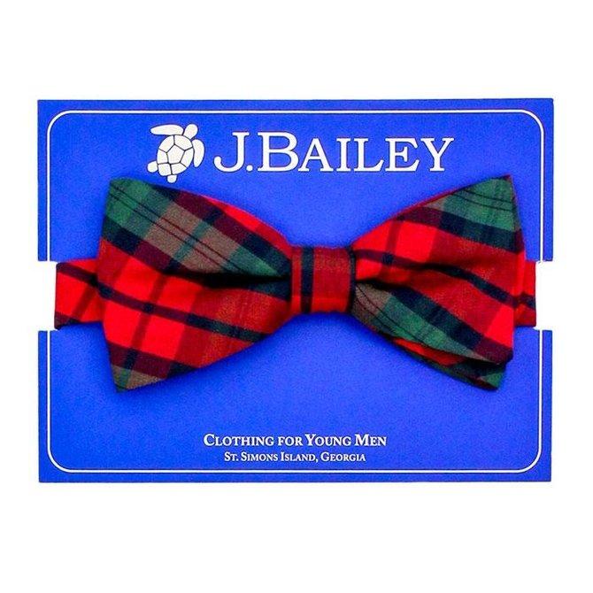 J. Bailey J. Bailey Bow Tie December Plaid