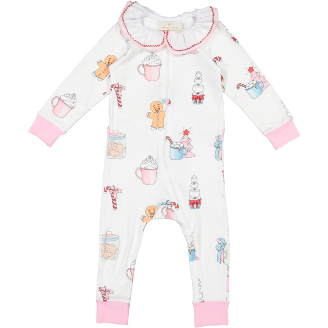 Sal and Pimenta Hot Chocolate Pajama Baby Girl