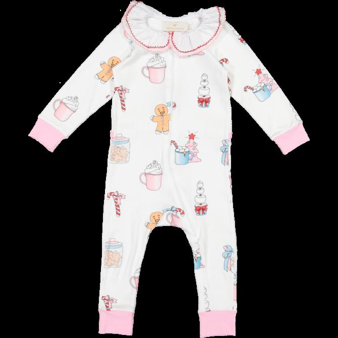 Sal & Pimenta Hot Chocolate Pajama Baby Girl