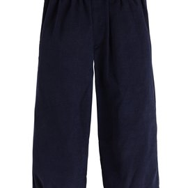 Little English Boys Banded Pull On Pant Navy