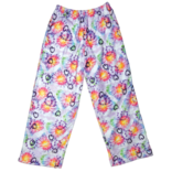 Iscream Fuzzy Pants Heart Tie Dye