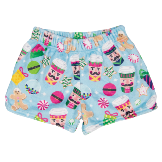 Iscream Fuzzy Shorts Nutcracker