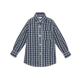 Remember Nguyen Navy Plaid Brother Shirt
