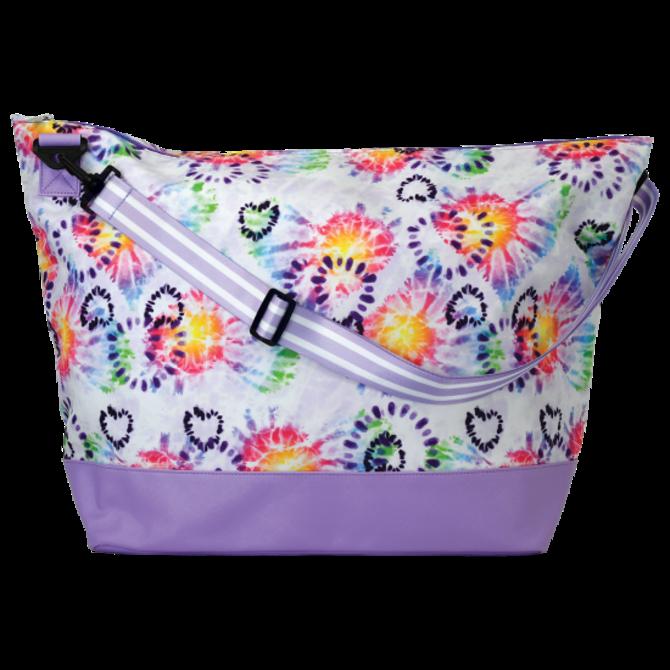 Iscream Heart Tie Dye Weekender Bag