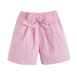 Little English Corduroy Bow Short Pink
